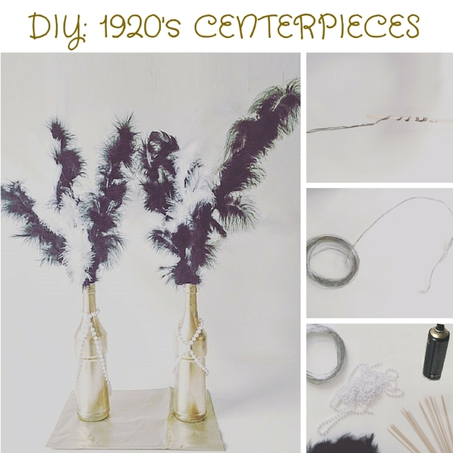 DIY UPCYCLED CENTERPIECES