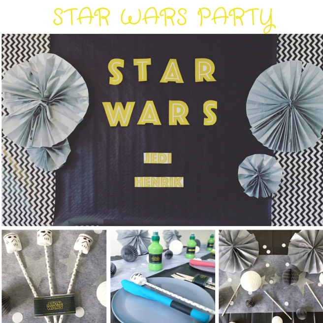 The Party Ville Star Wars Party