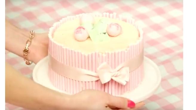 MAC Flamingo park cake