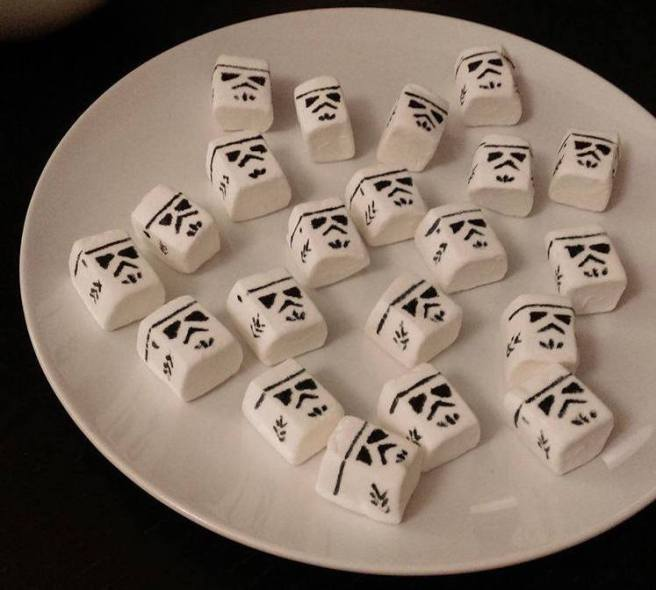Star Wars Party Marshmallows