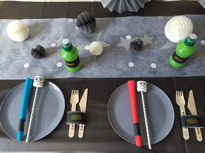 Star Wars Party table decor