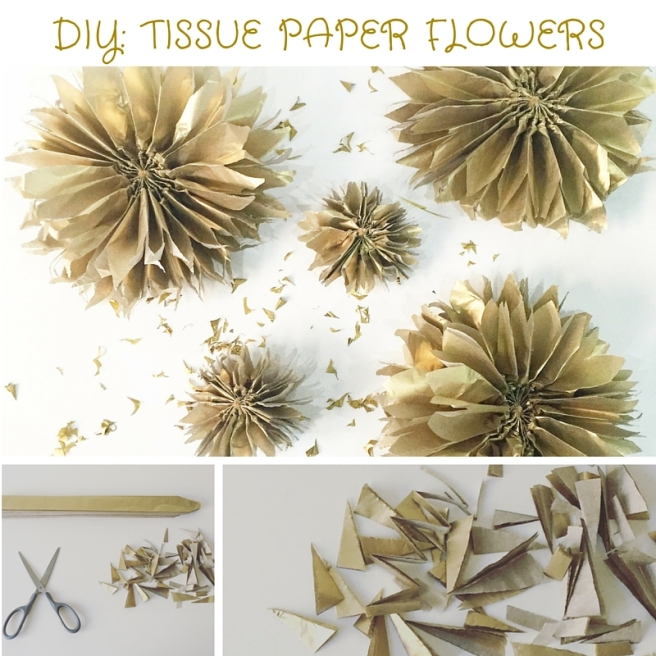The Party Ville tissue paper flowers