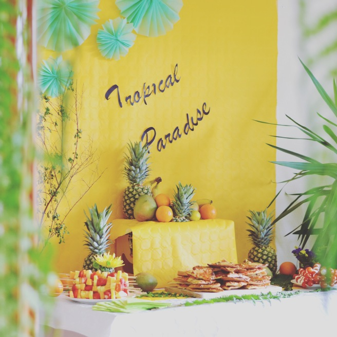 Tropical paradise party