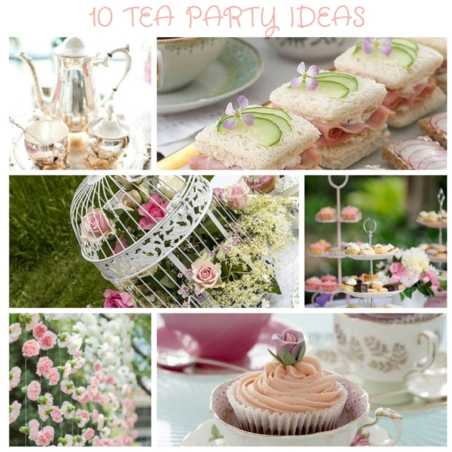 10 Awesome Tea Party Ideas The Party Ville Party Planner