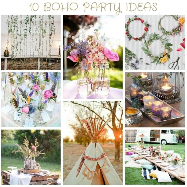 Boho Party Ideas