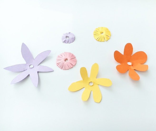 Craft paper flowers 4