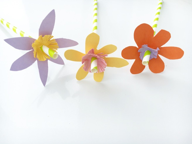 Craft paper flowers 5