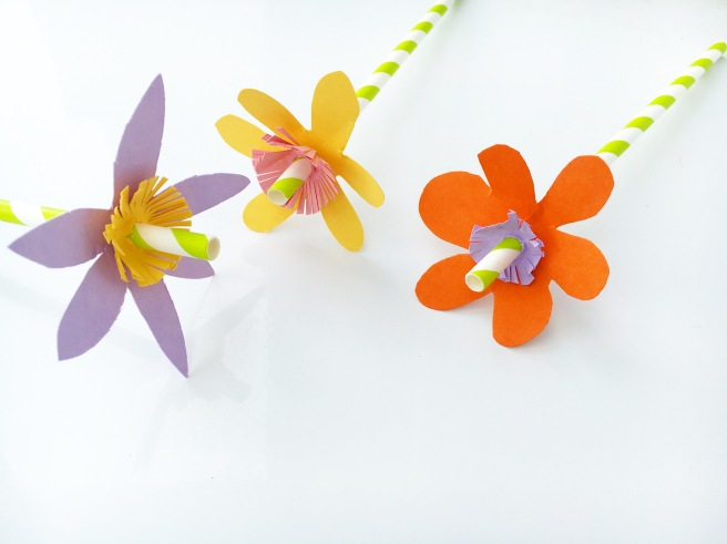 Craft paper flowers 6