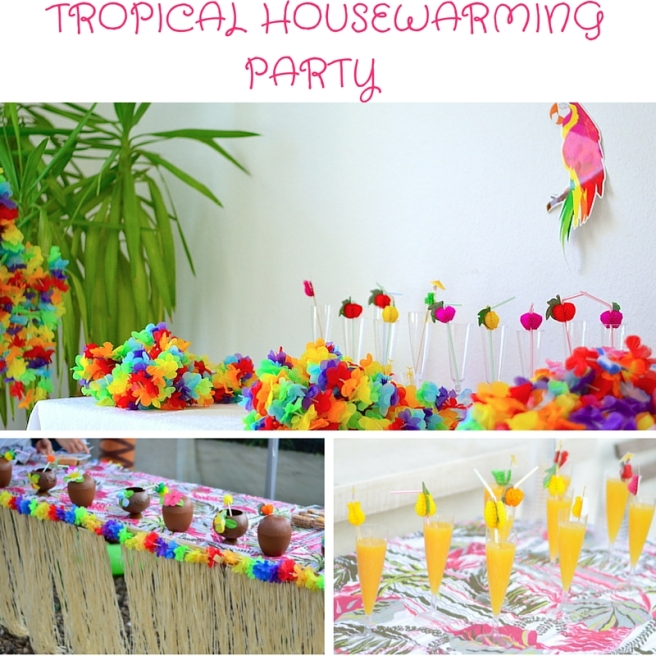 Tropical Housewarming Party