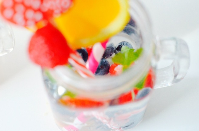 Fruity Herbal ICe Cubes