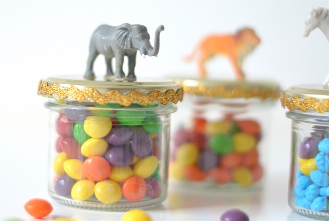 Animal Jars favours