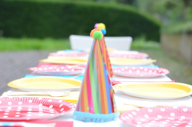 Circus Party Table Decoration
