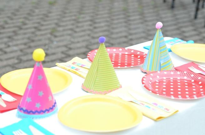 Circus Party Tableware
