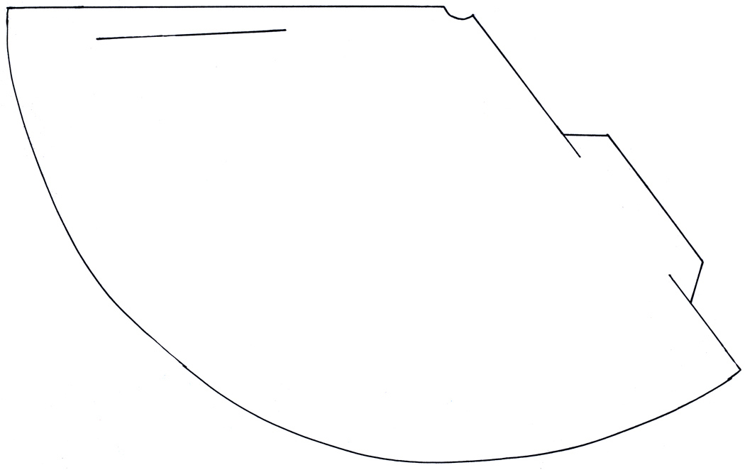 Party Hat Template. Large Party Hat Shape Template A Page With Two ...