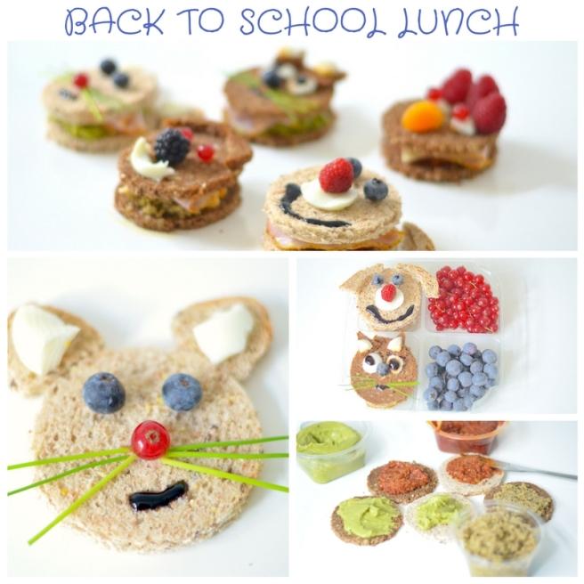 Back to school lunch Delhaize