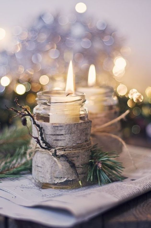 winter-wedding-candles