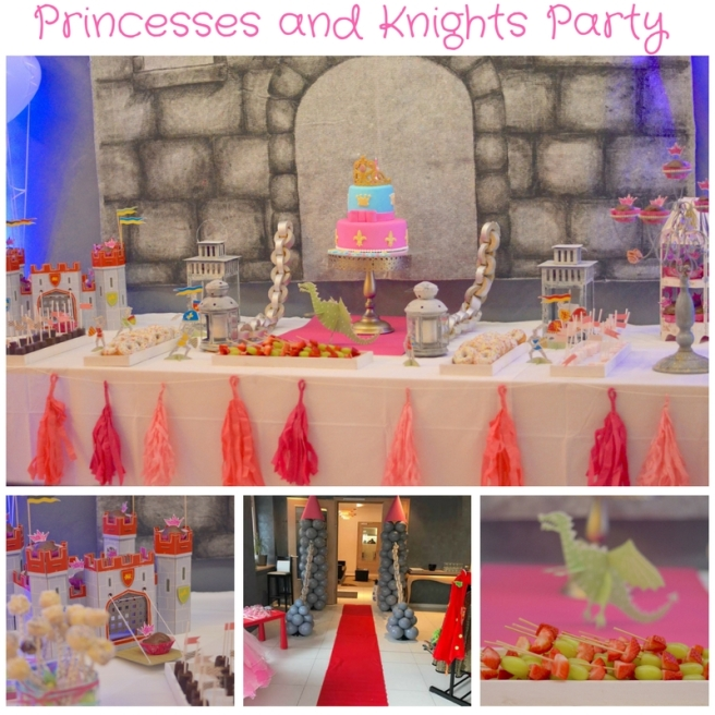 pincesses-and-knights-party