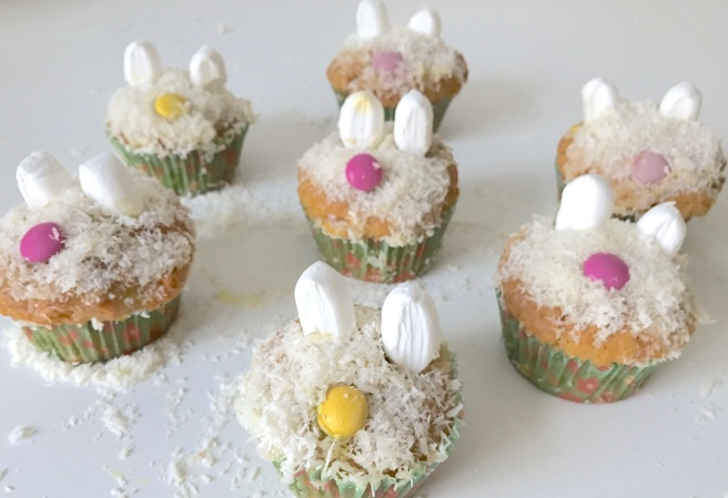 Carrot Bunny Cupcakes (6)