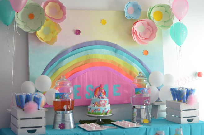 Trolls Birthday Party 3