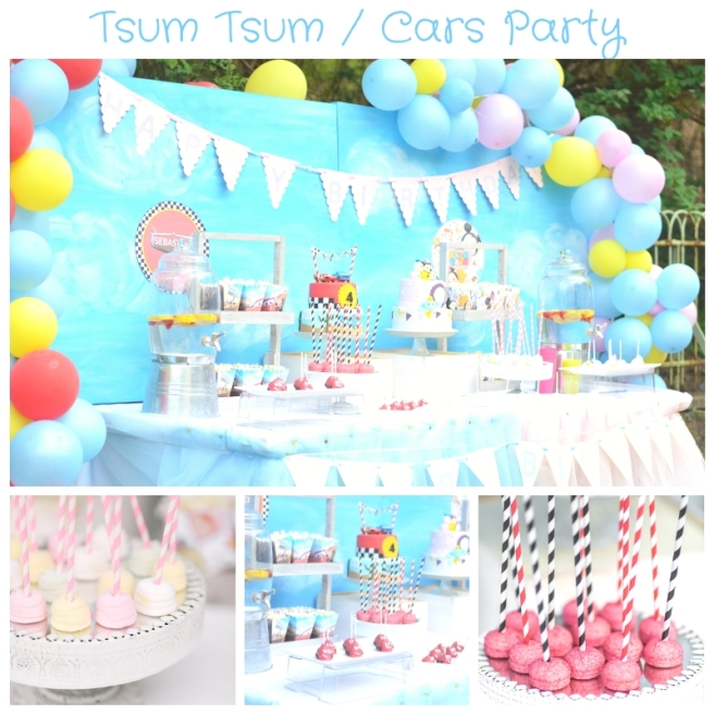 Tsum Tsum _ Cars Party
