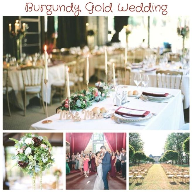Burgundy Wedding Chateau du Bois d Arlon